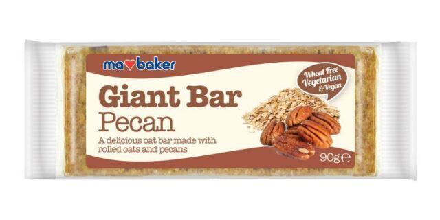 Ma Baker Giant Pecan Bar 90g (Pack of 20)