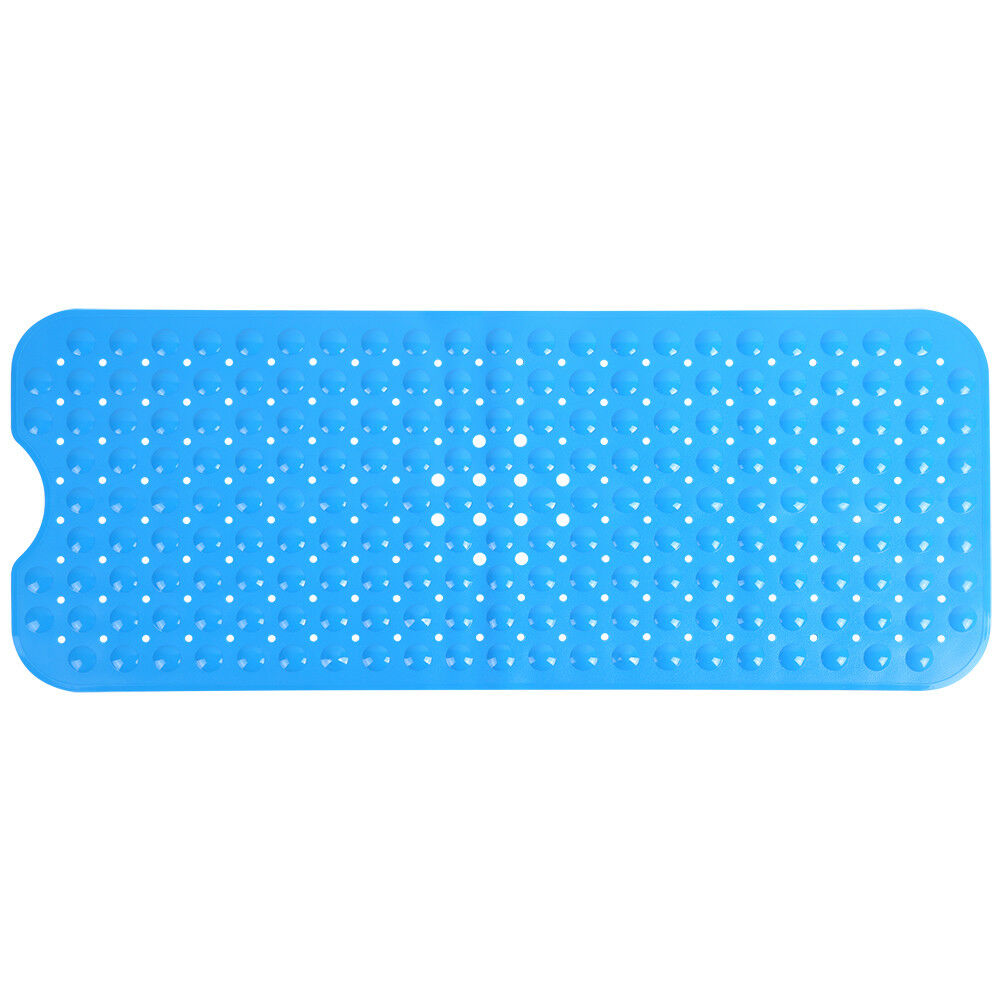 4 Color Extra Long Bath Mat Non Slip Anti Skid Rubber Shower Tub ...