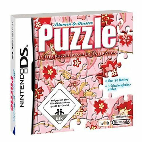Puzzle ★ Blumen & Muster ★ Nintendo DS Spiel★ Neu / OVP