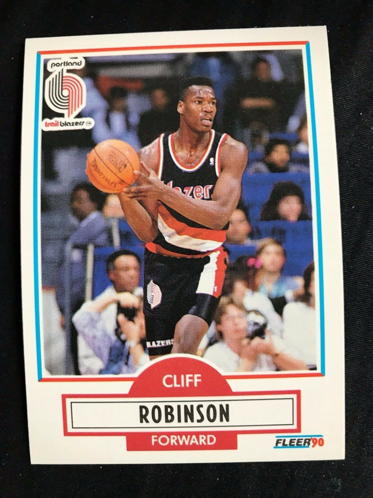 1990 Fleer Cliff Robinson 159 Basketball Card