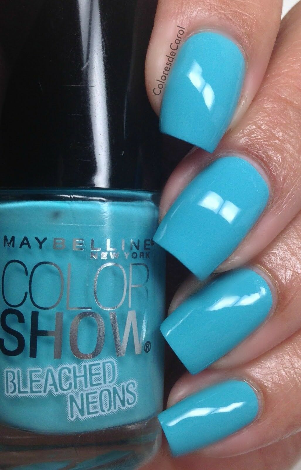Maybelline Color Show Bleached Neons Nail Polish Lacquer #766 Day ...