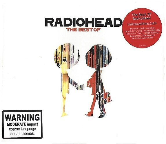 RADIOHEAD / THE BEST OF - LIMITED EDITION * NEW 2CD'S * NEU *