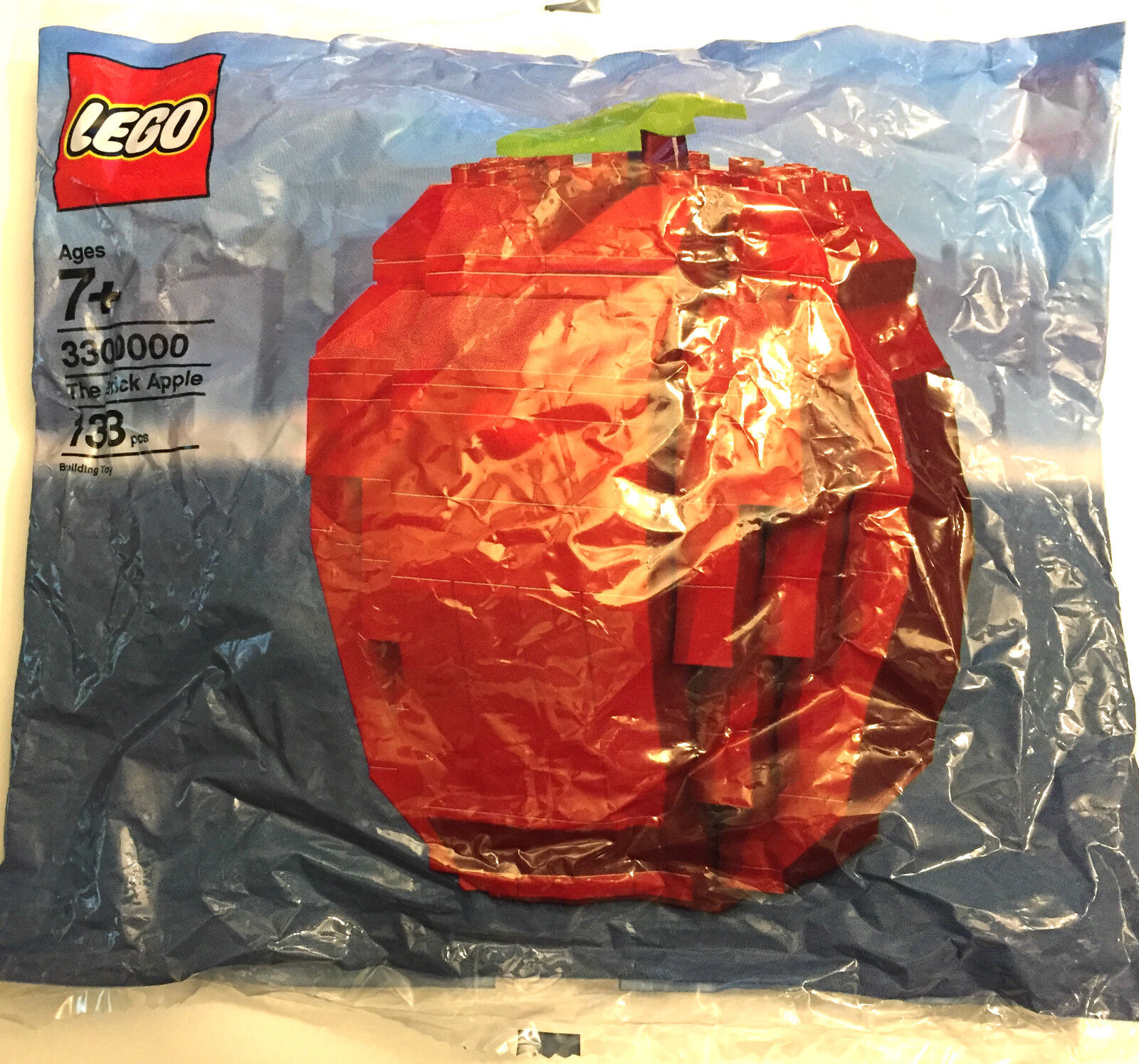 *NEW* Lego THE BRICK APPLE Polybag 3300000