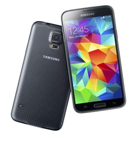 """Noir 5.1"""" Samsung Galaxy S5 G900T 4G LTE 16GB 16MP Débloqué Téléphone Android"""