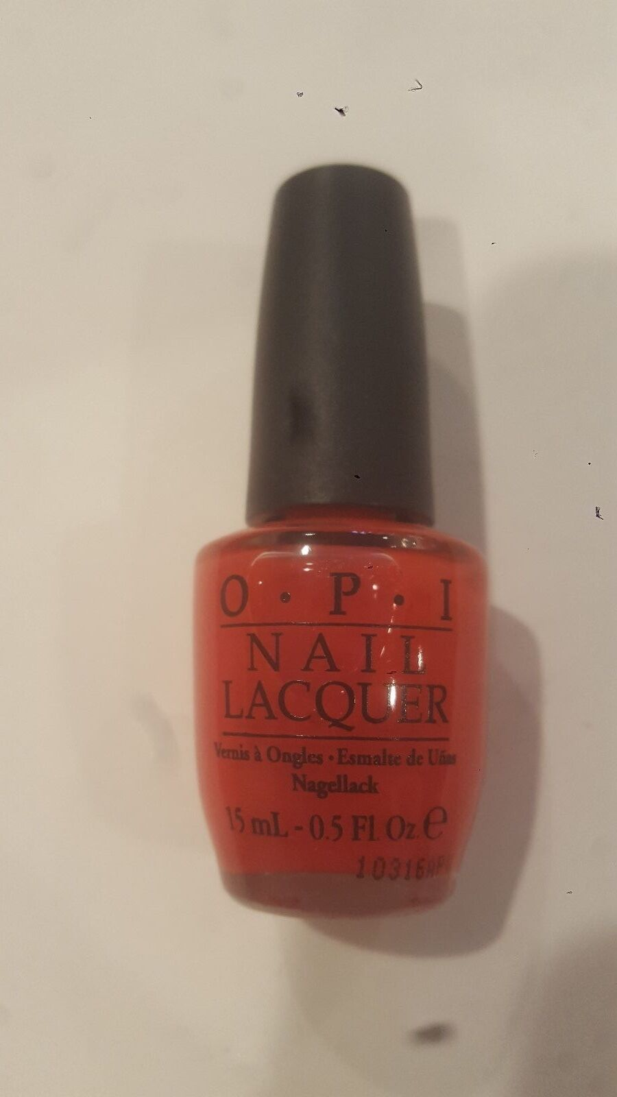 OPI Guy Meets Gal Veston Red Nail Lacquer | eBay