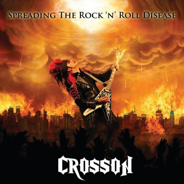 CROSSON – Spreading The Rock 'n' Roll Disease - CD-Jewel Neu New