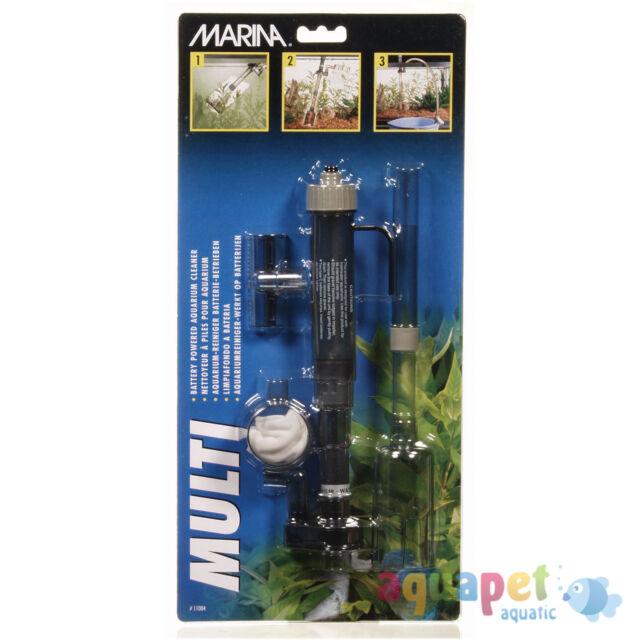 Marina Multi Vac, 3 in 1 Aquarium Gravel Cleaner, Algae remover and Water Siphon