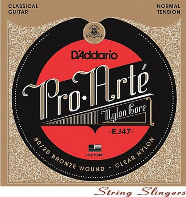 D'Addario EJ47 'Pro Arte' Classical strings, Normal Tension