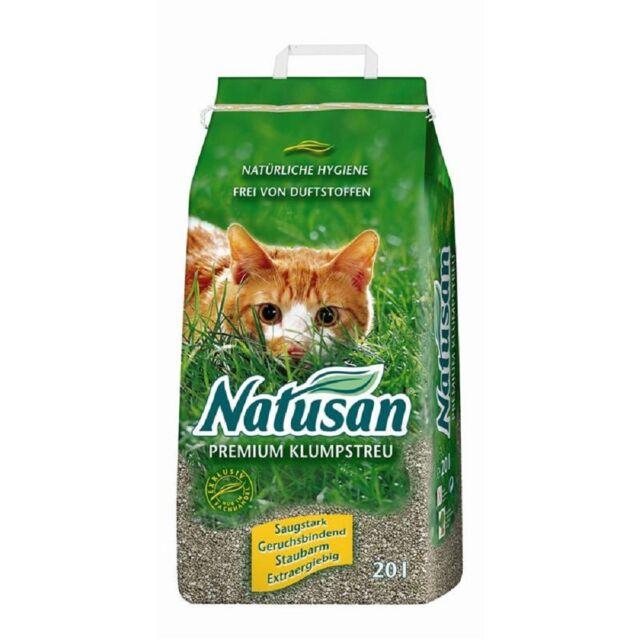 Natusan Premium Klumpstreu 20ltr, Katzenstreu Klumpstreu