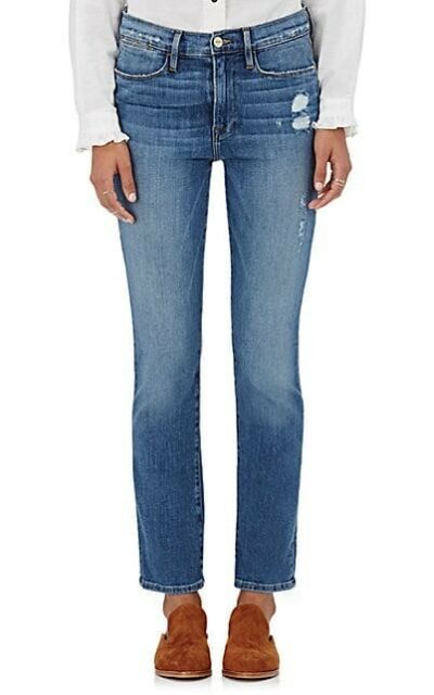 Womens Le High Straight Distressed Jeans Frame Denim qtyNJjdWt1