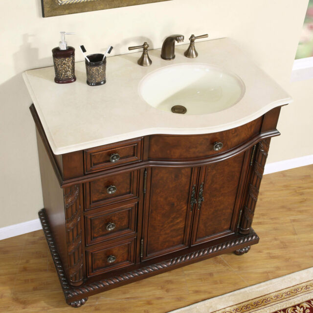 36 bathroom cabinet 36 quot 0213cm center right sink marble top bathroom 10211