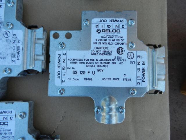Lithonia Lighting SS 120 F U Splitter Splice 120v 20a Max 12awg ...