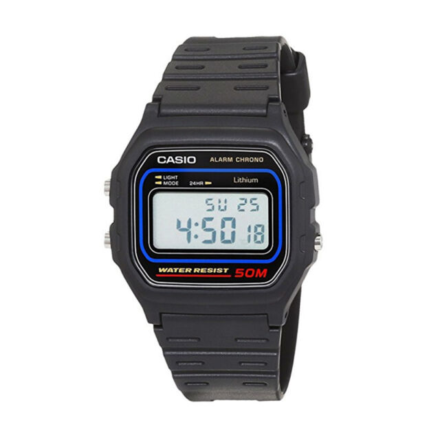 Reloj Casio Original Retro W-59-1V Digital Negro Unisex