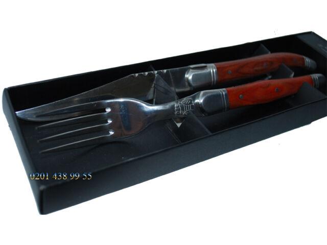 Zweibrüder Küchenmesser Messer Küchen Kochmesser Steakmesser mit Gabel 2204