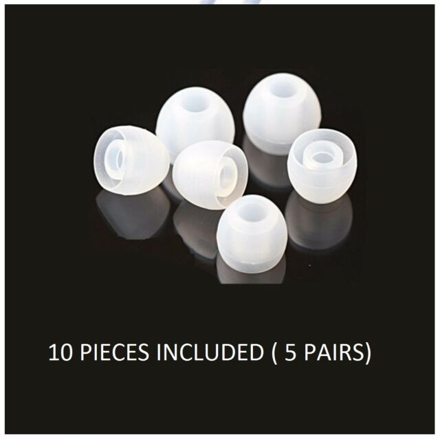10x Universal Earphones  Replacement Silicone EARBUD EAR BUD Tips Covers