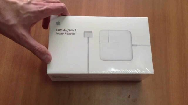 "Genuine Apple 45W Macbook Air 11"" 13"" MagSafe2 Power Adaptor Charger A1466 A1465"
