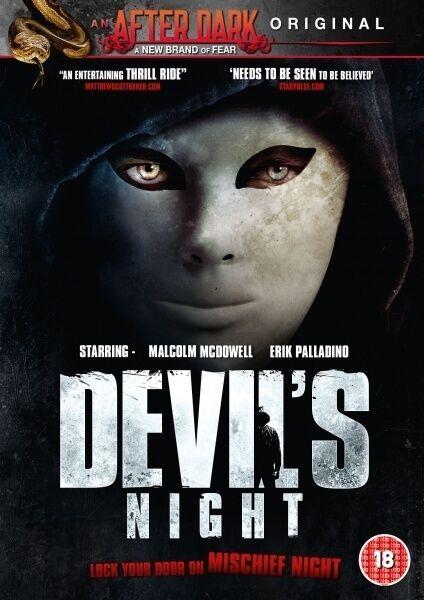 Devil's Night (DVD) (NEW AND SEALED) (REGION 2) (FREE POST)