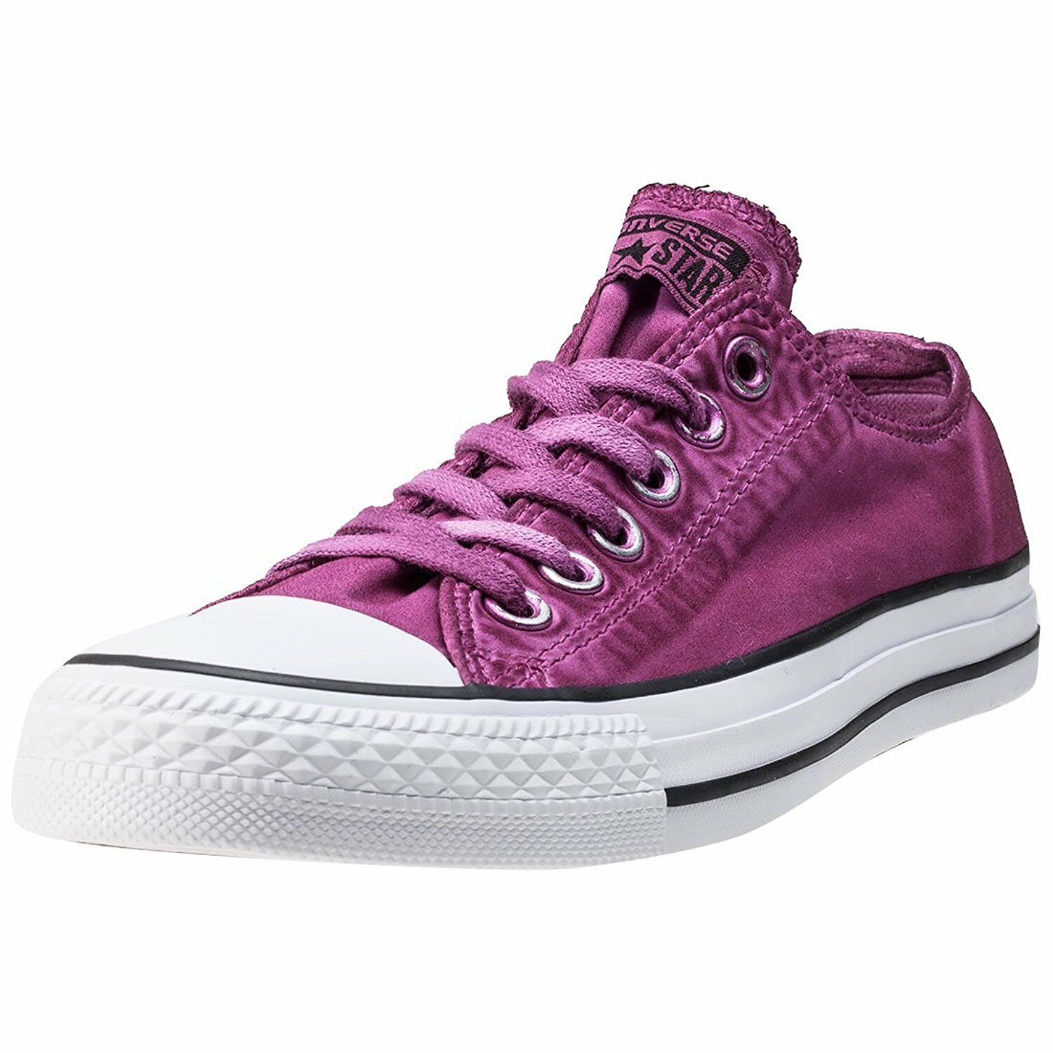Converse Chuck Taylor All Star Ox Magenta Glow Mens Canvas Low Top Trainers