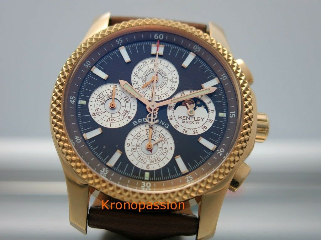 chronograph mens itm automatic black chronometer watch bentley gmt is image loading dial breitling