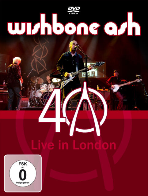 DVD Wishbone Ash 40th Anniversary Concert Live In London
