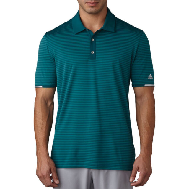 Adidas Golf 2017 Climachill™ Tonal Stripe Polo Mens Performance Golf Polo Shirt Ultra Beauty Large Df3a9VMzTN