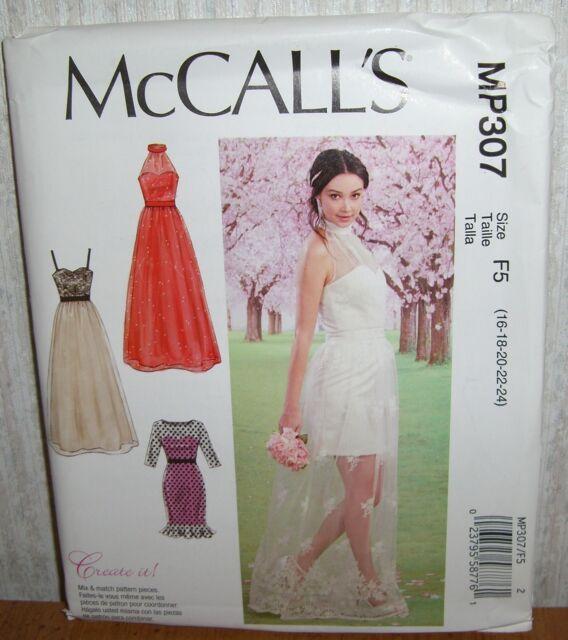 MP307 Mccall\'s Dresses Sewing Pattern Sizes 16-24 Mix and Match   eBay