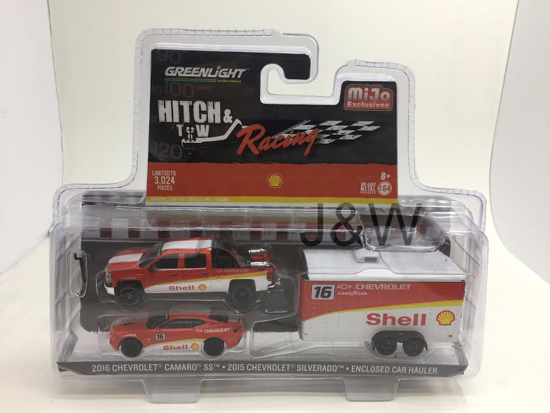 2015 Chevrolet Silverado 2016 Camaro Shell 1 64 By Greenlight