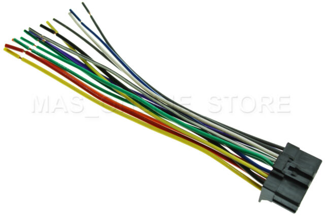 Wire Harness for Pioneer Avh-p3200dvd Avhp3200dvd *pay Today Ships ...