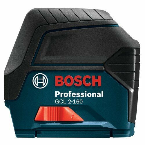bosch gcl 2 160 self leveling cross line laser with plumb points ebay. Black Bedroom Furniture Sets. Home Design Ideas