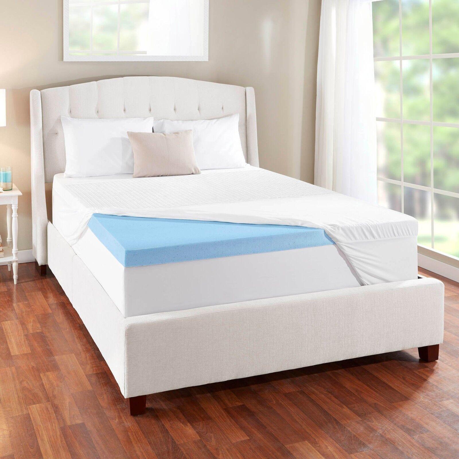 novaform 14 comfort grande queen gel memory foam mattress. novaform 3 evencor gelplus gel memory foam mattress topper with cooling cover 14 comfort grande queen