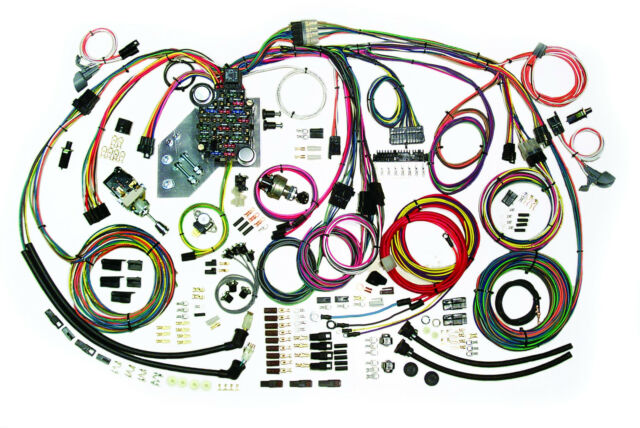 american autowire 1947 55 chevy pickup truck custom update wiring custom wiring harness for semi truck at Custom Truck Wiring Harness