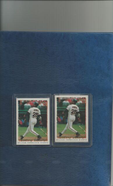 1995 Topps Barry Bonds San Francisco Giants #100 Baseball Card   eBay