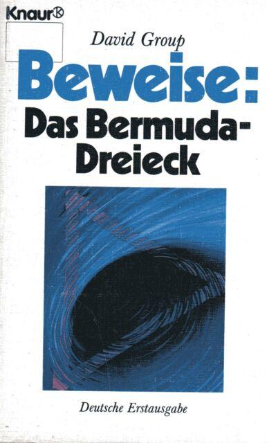 BEWEISE : Das Bermuda Dreieck - Buch von David Group - KNAUR TB
