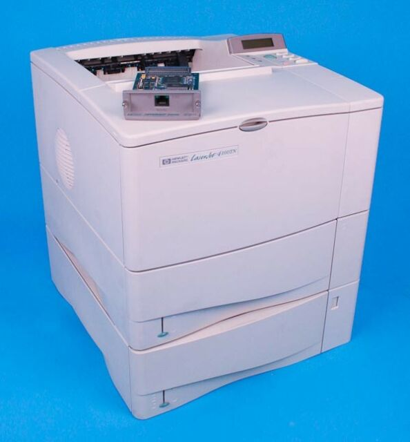 How to Set Up Wireless Connection on HP LaserJet 4100