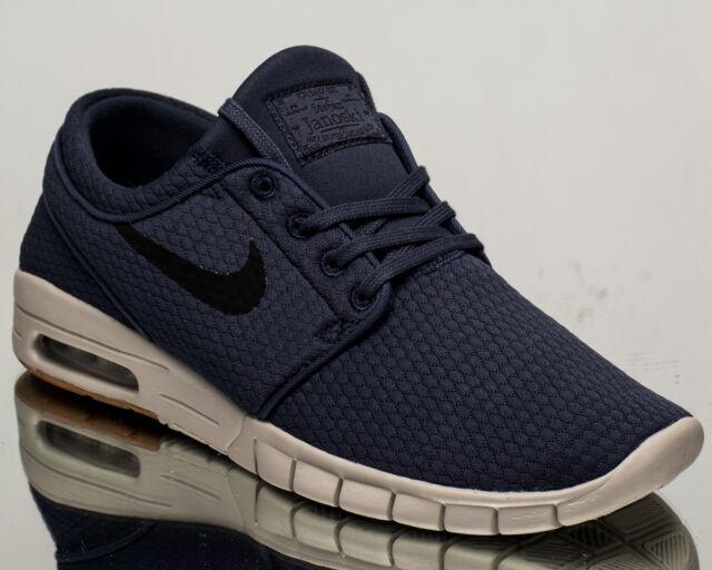 Nike SB Stefan Janoski Max air men lifestyle sneakers NEW blue black  631303-402