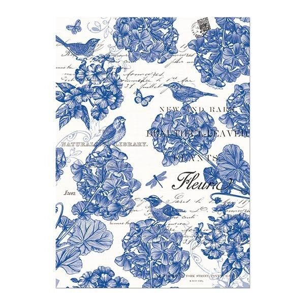 Michel Design Works Kitchen Dish Towel Indigo Cotton | EBay