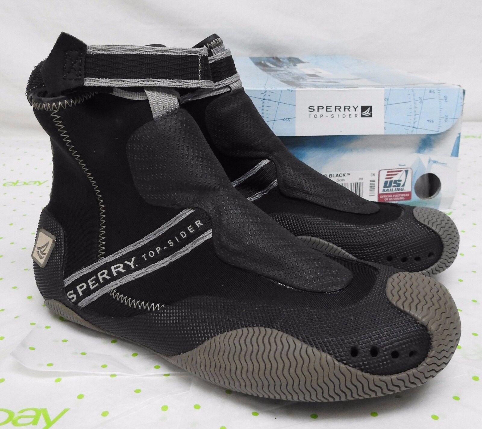 Sperry Top Sider men's size 4.5 M Ebb Tide boot black