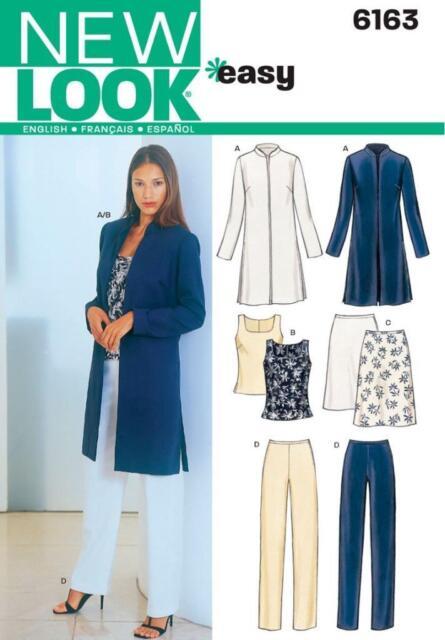 Look Schnittmuster 6163 für Damenbekleidung Gr. 38-48   eBay