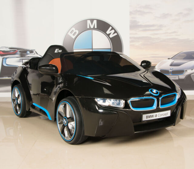 Bmw I8 12v Electric Ride On With Remote Control: 2018 Best Kid BMW I8 12v Kids Ride On Battery Powered