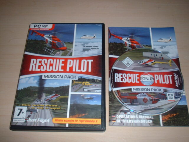 ✈️ FSX RESCUE PILOT EXPANSION ~ MICROSOFT FLIGHT SIMULATOR X ADD-ON FSX ADD-ON