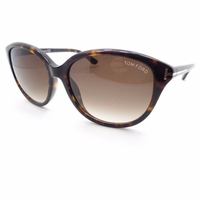Tom Ford Karmen Sonnenbrille Tortoise 52F 57mm mwBQD