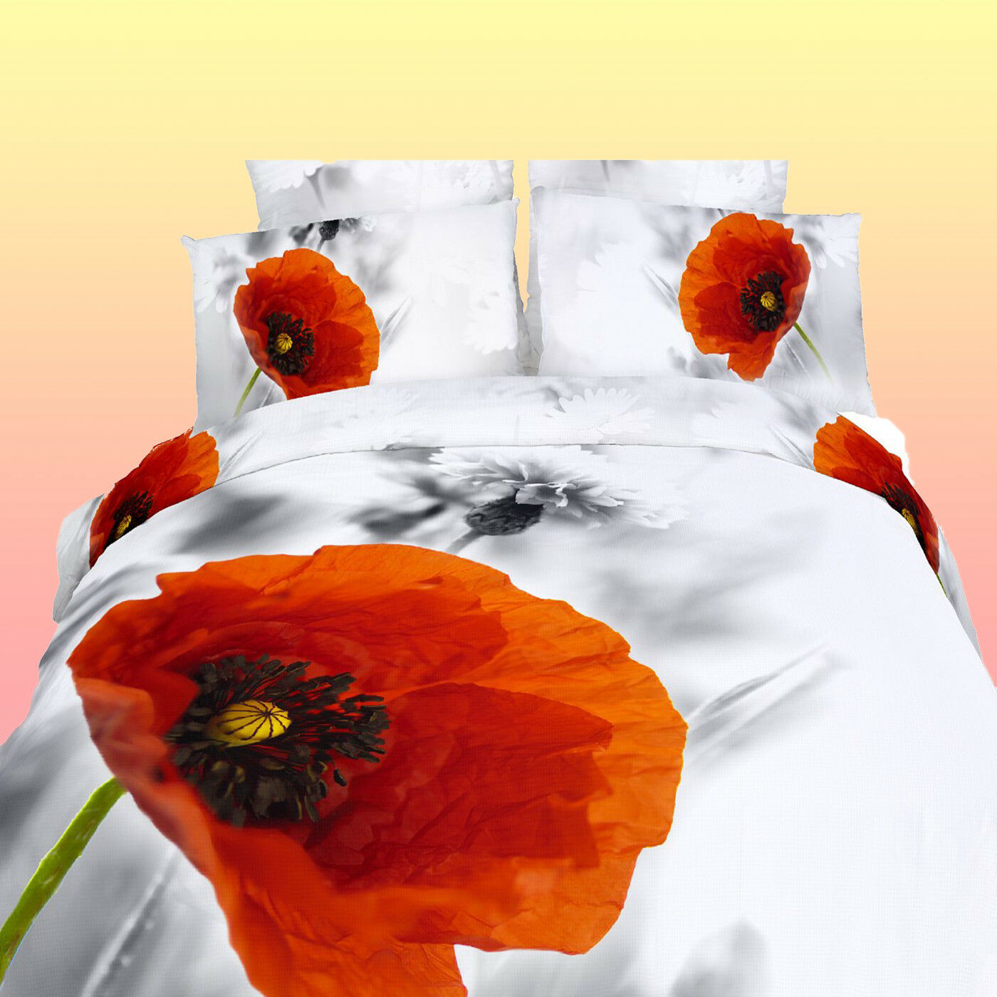 Red Poppy Duvet Cover Shapeyourminds Com