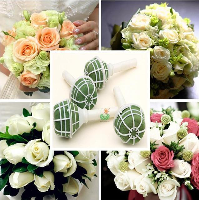 Di uk 1x foam bouquet holder handle bridal floral wedding flower di uk 1x foam bouquet holder handle bridal floral wedding flower diy decoration junglespirit Gallery
