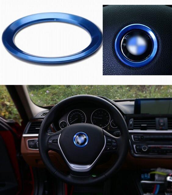 Auto Decorative Accessories Steering Wheel Center Logo Diamond Ring ...
