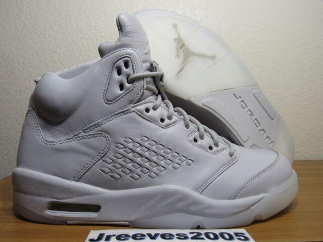 ... DS Jordan Retro 5 Premium PURE PLATINUM Sz 10 100% Authentic V 881432  003  Prev Air Jordan 5 Premium Pinnacle ... 149b74be8