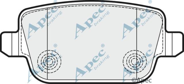 PAD1532 GENUINE APEC REAR BRAKE PADS FOR FORD KUGA I