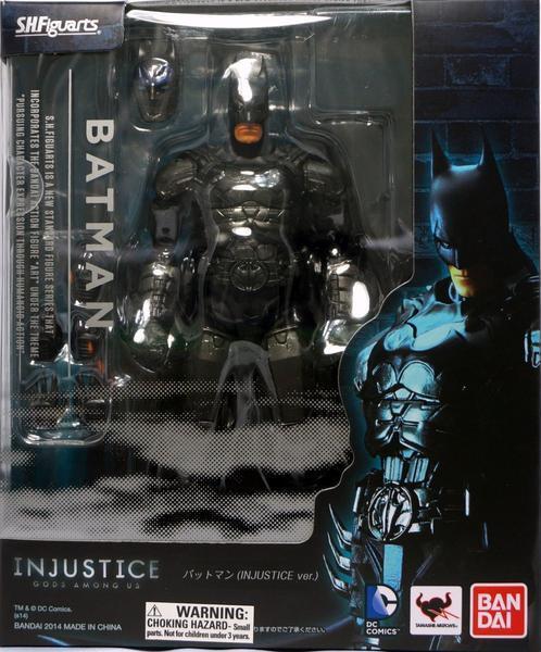 Shguarts injustice gods among us batman action figure dc comics shguarts injustice gods among us batman action figure dc comics bandai 2014 ebay voltagebd Choice Image