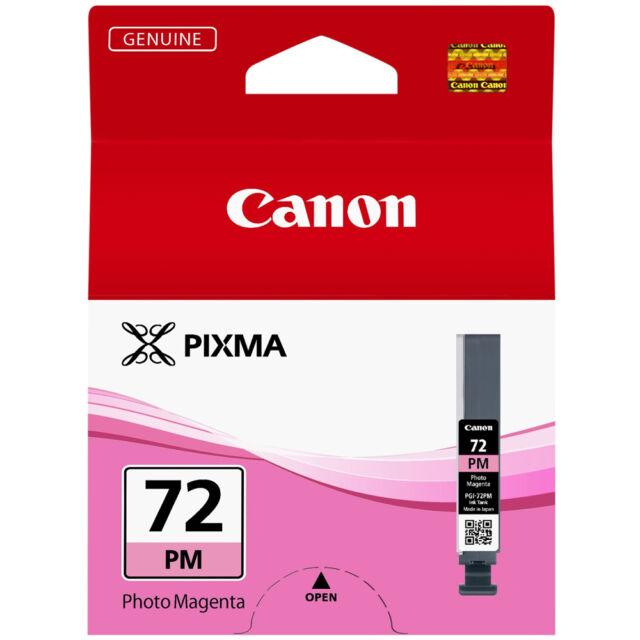 GENUINE CANON PIXMA PGI-72PM PHOTO MAGENTA PRINTER INK CARTRIDGE / PGI-72 SERIES