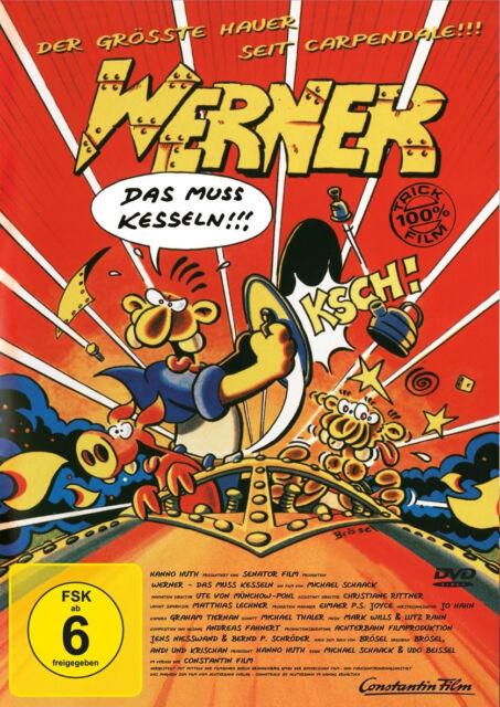 DVD * WERNER - DAS MUSS KESSELN  # NEU OVP +