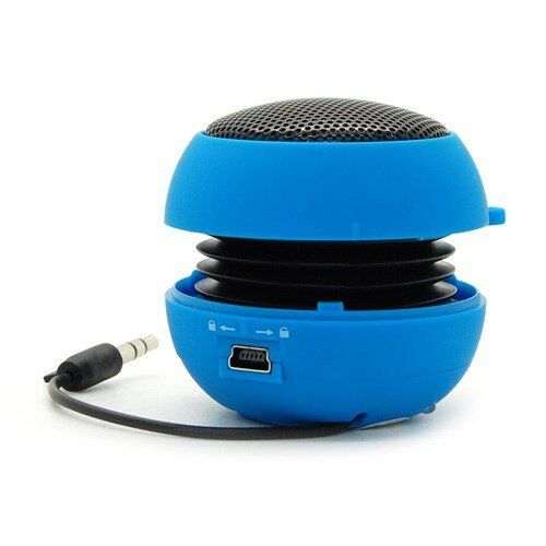 MINI PORTABLE TRAVEL BASS SPEAKER SPEAKERS for IPOD IPHONE IPAD MP3 Mobile Phone